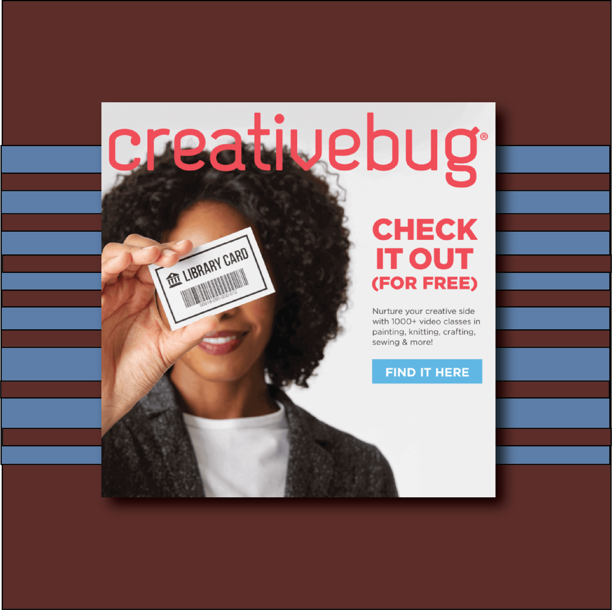 Creative Bug now available!