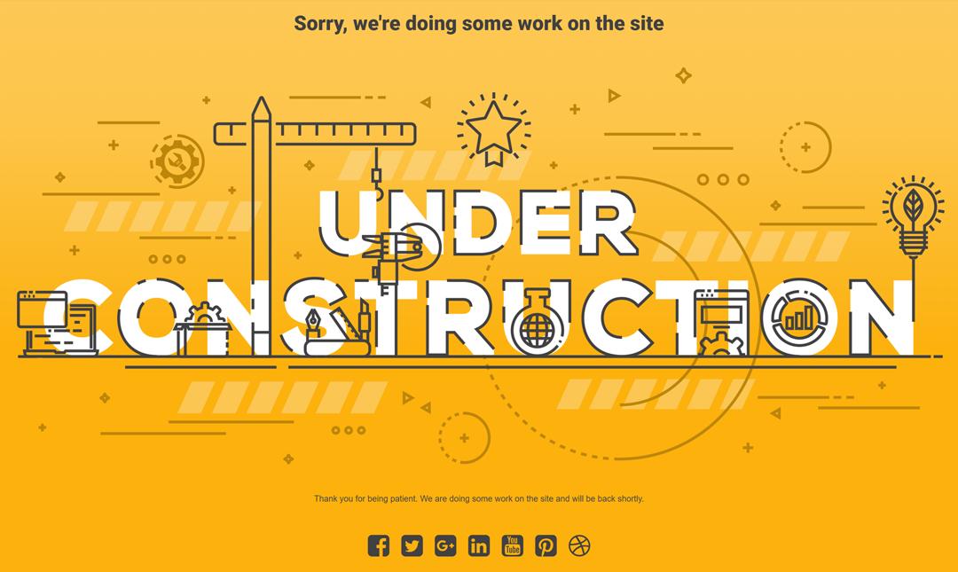 Website maintenence