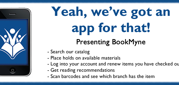 Check your Account with the BookMyne App!